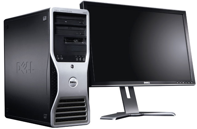 Dell Precision 390 with Monitor LCD